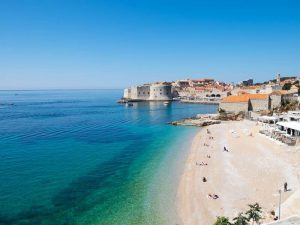 Dubrovnik Croatia Old Town Beach