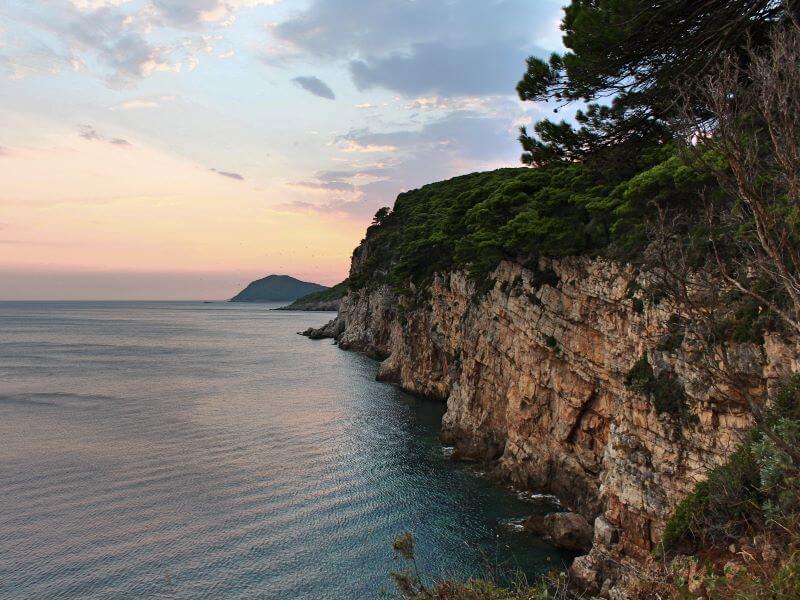 Plavba na ostrově Elaphiti