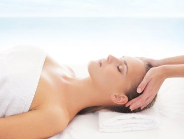 Beautiful,Healthy,Woman,Getting,Spa,Treatment,Over,The,Resort,Background